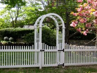 Chestnut Hill Arbor and Fence