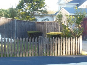 picket fence, Beverly fence company, privacy board fence